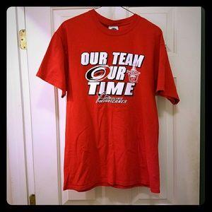 Carolina Hurricanes Short Sleeve Tee Shirt